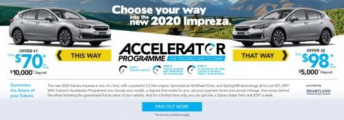 Accelerator Q1 Finance Slider